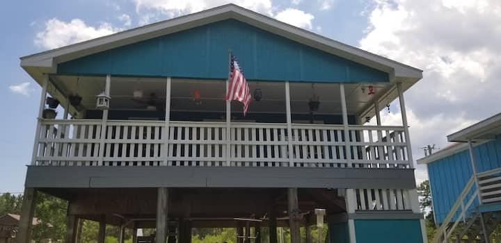 Aqua House, Bayou Vacation Home