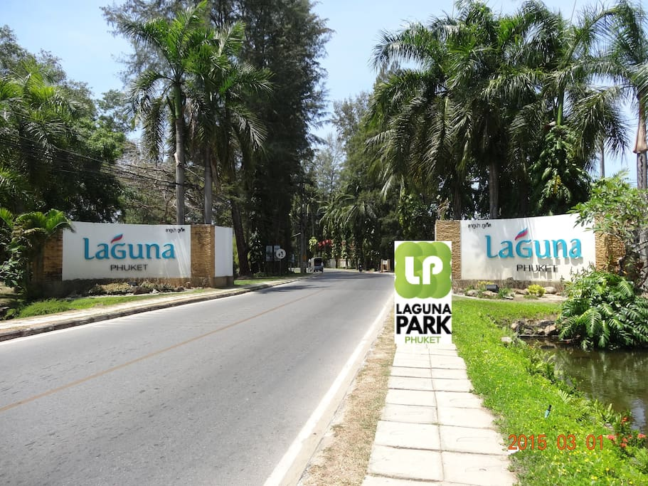 Gate of Laguna Resort