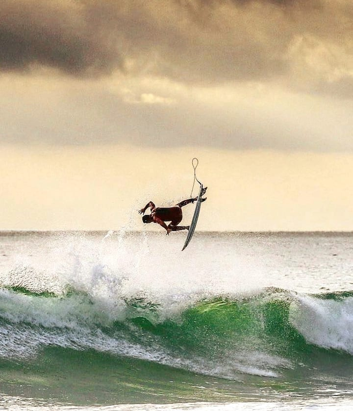 Train to surf better