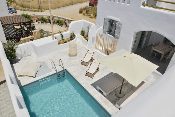 Naxian Album vila KALIOPE with private pool Naxos