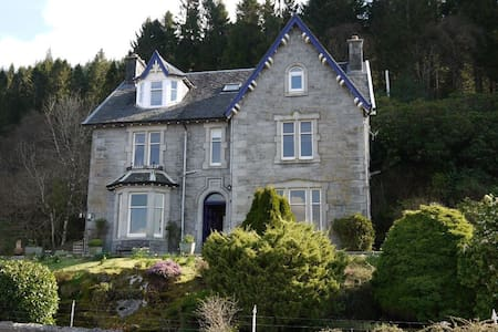 Craiglinnhe House B&B DBL ensuite (Rm5) nr Glencoe