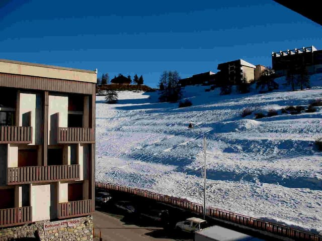 VALBERG beau 2 p. au coeur de la station/parking - Péone - Apartment