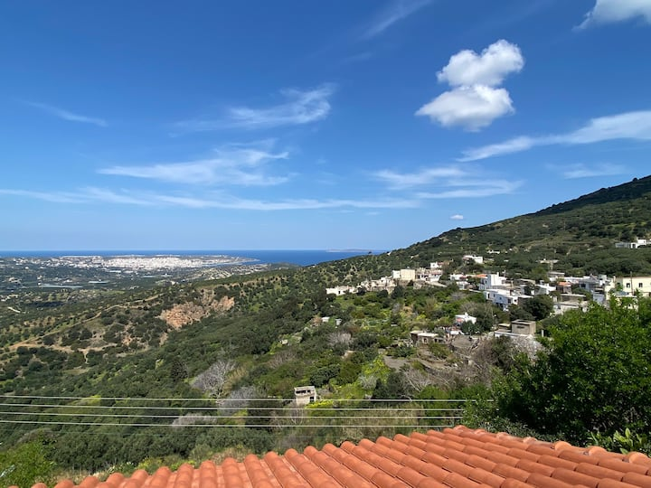 Villa Metochia Panoramic View Sitia