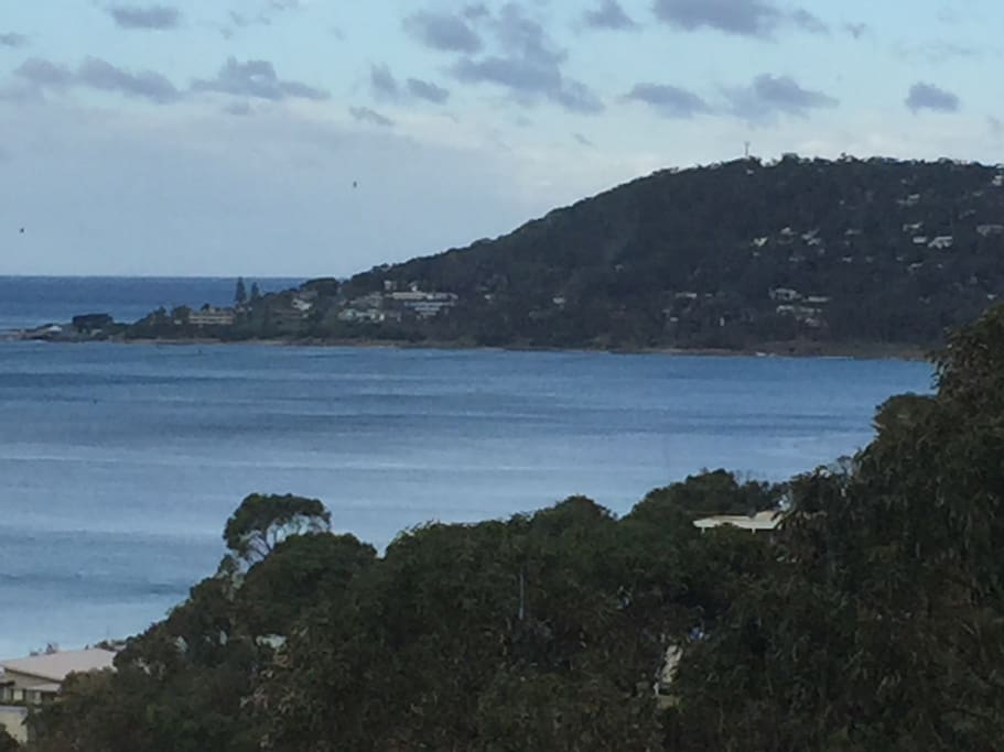Views over Lorne also 180 degrees back toward Aireys