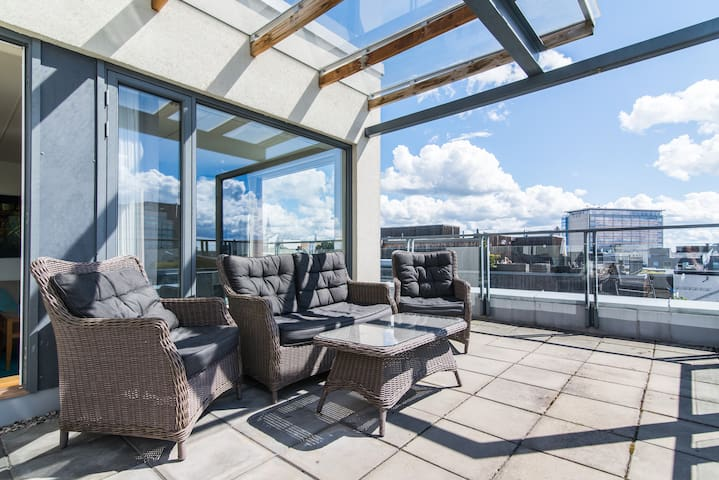 Exclusive 2BR Penthouse Apartment - Oslo - Departamento