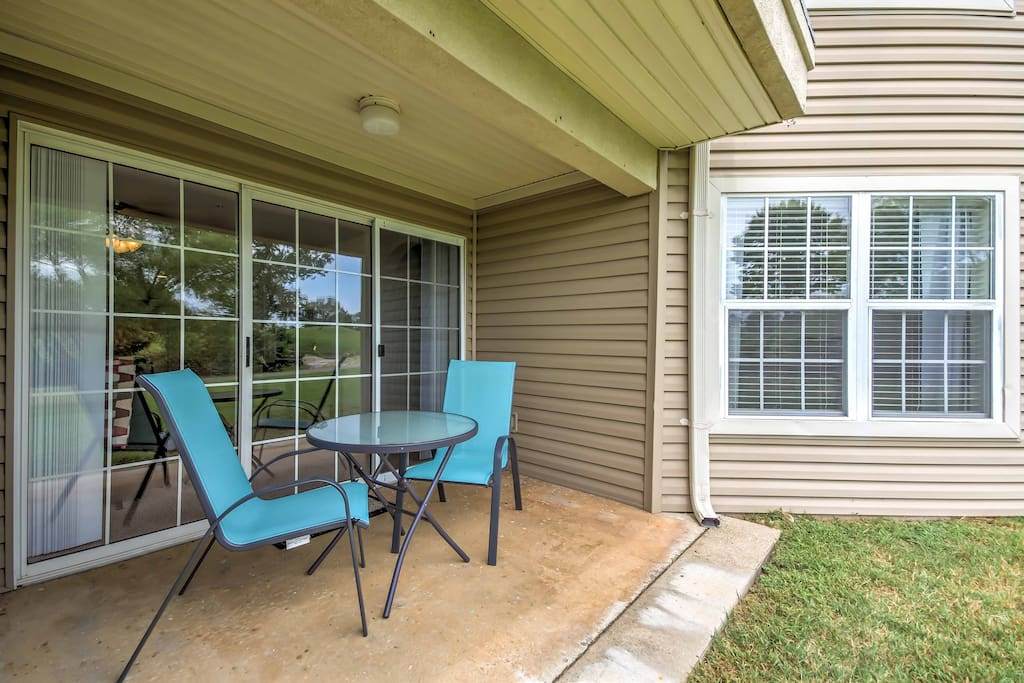 This home sleeps 6 guests and features a private patio overlooking the course.