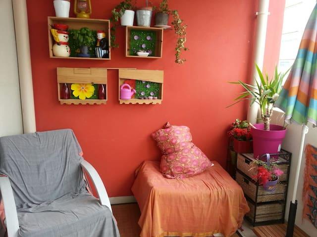 Appartamento centro ciudad calma - Istres - Leilighet