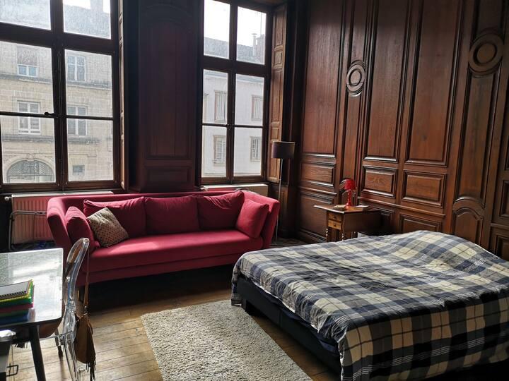 Chambre privée dans un appartement de charme