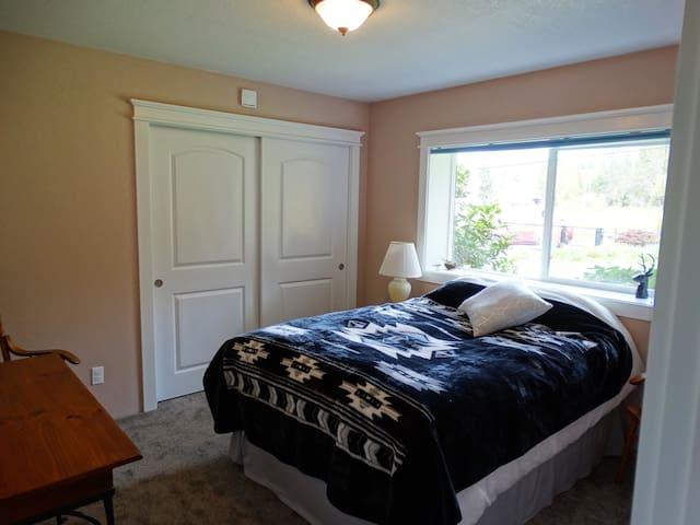 Bedroom 3 has a queen bed