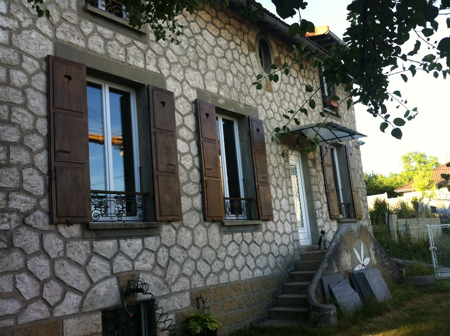 Maison typique de l'île de France