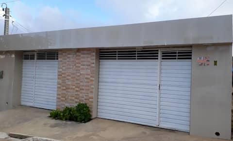 Casa confortável no Viana & Moura/Com garagem