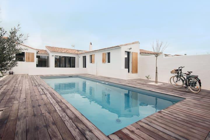 Très belle villa Ile de Ré - piscine chauffée