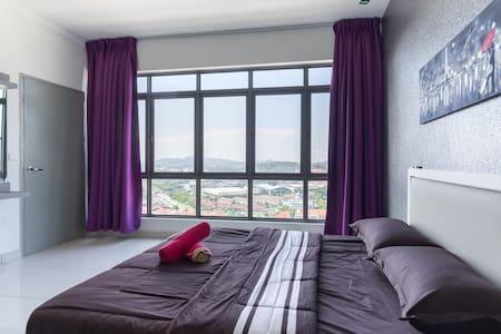 Wake up to stunning view of Bangi Sental