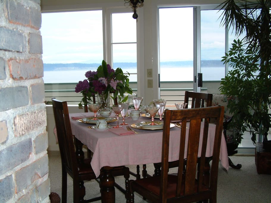 View from dining room
