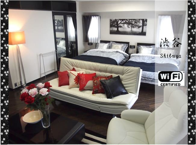 【Special Sale】2min from Shibuya! Big Living Room!! - Setagaya-ku