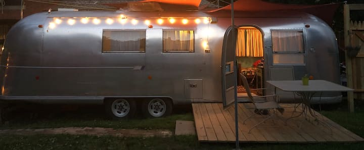 Bohemian AirStream dream for city glampers!
