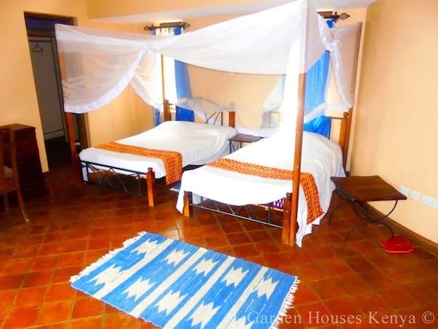 Garden Houses Kenya - Master Bedroom