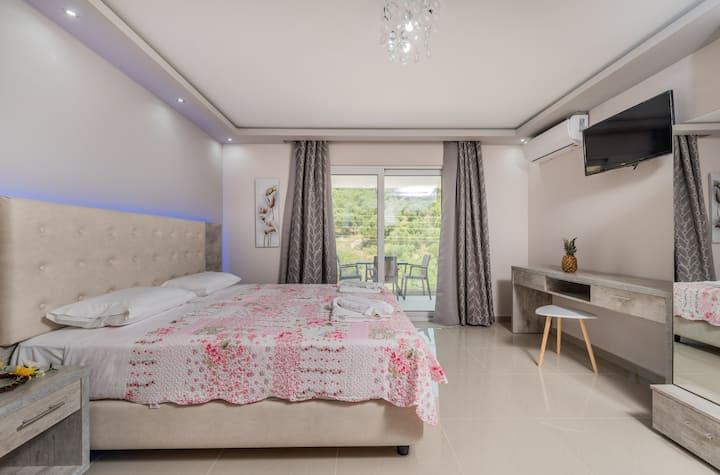 Villa Dionysia- 2nd Floor Studio for 2 guests - S7