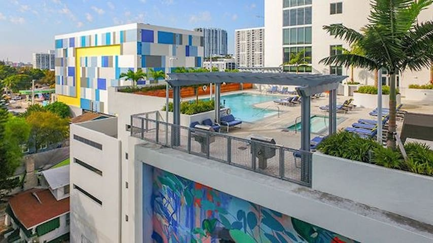 Fully equipped apartment in Wynwood/Edgewater