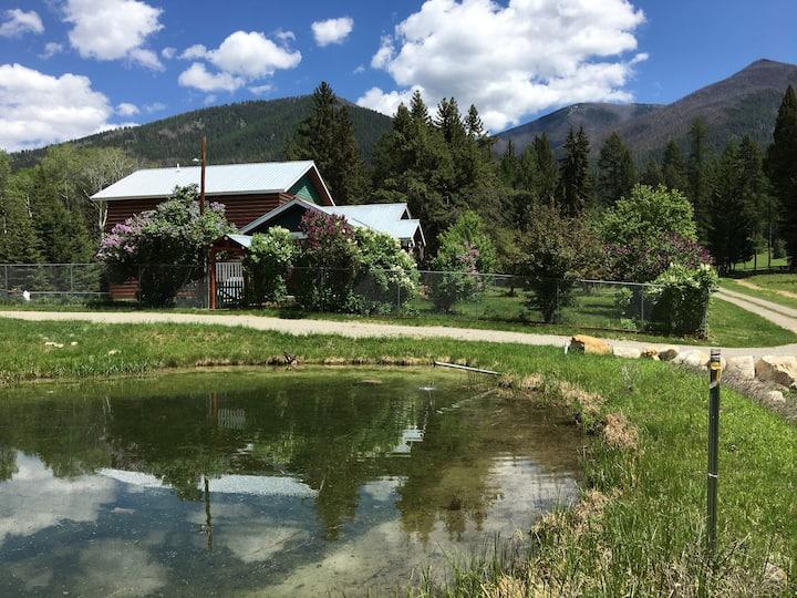 Private 40 acre Rocky Mountain Estate