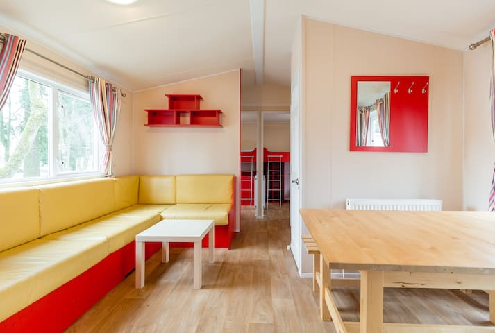 Comfort mobile home N with 3 sleeping rooms - Heiderscheid - Byt