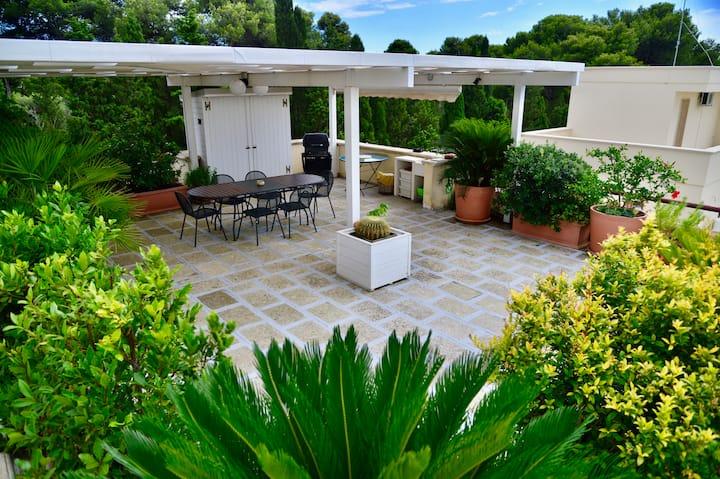 Santa Caterina House - Big, modern, with terrace