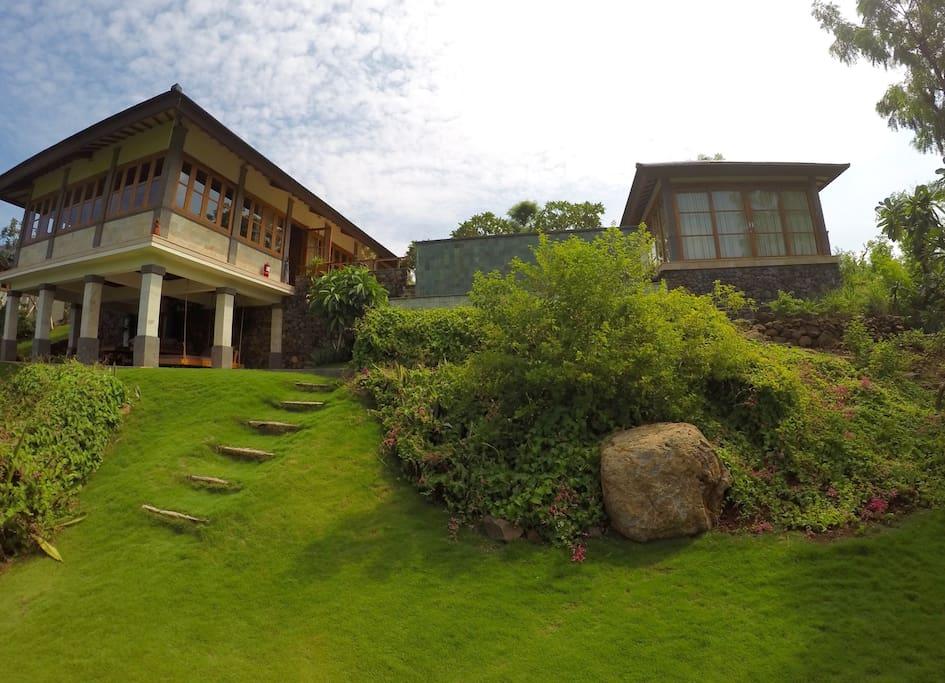 Overview Villa Naga