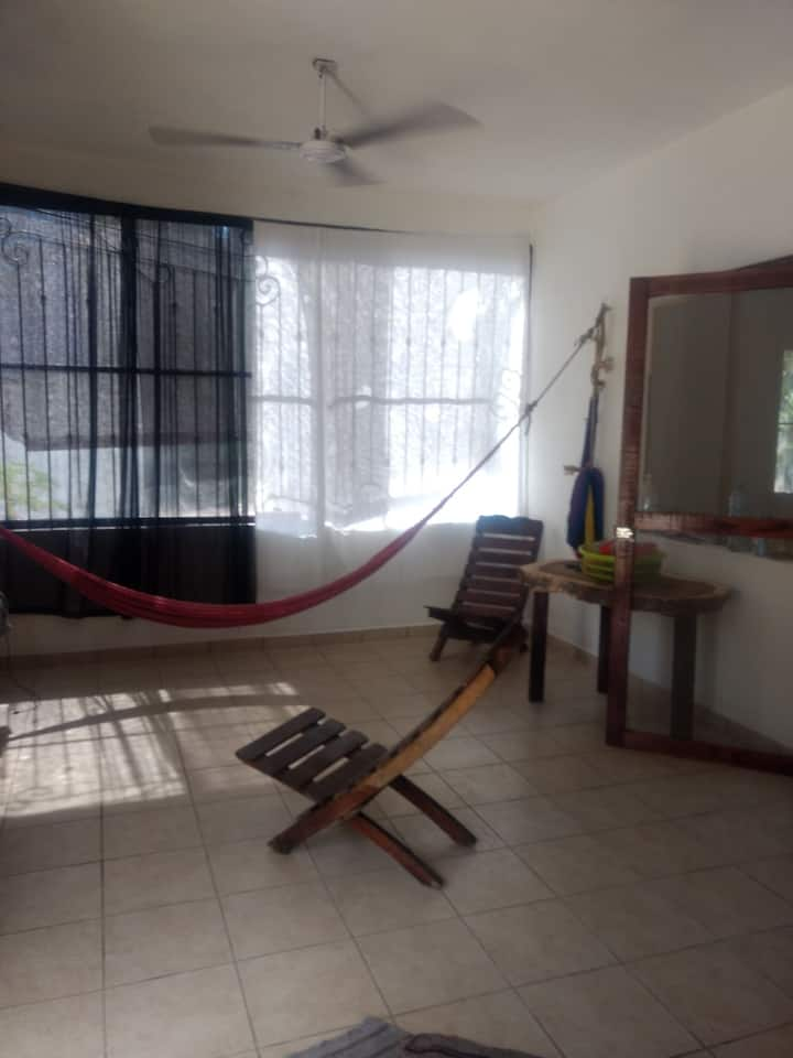 nice room with A/C close to the beach punta ZICATE