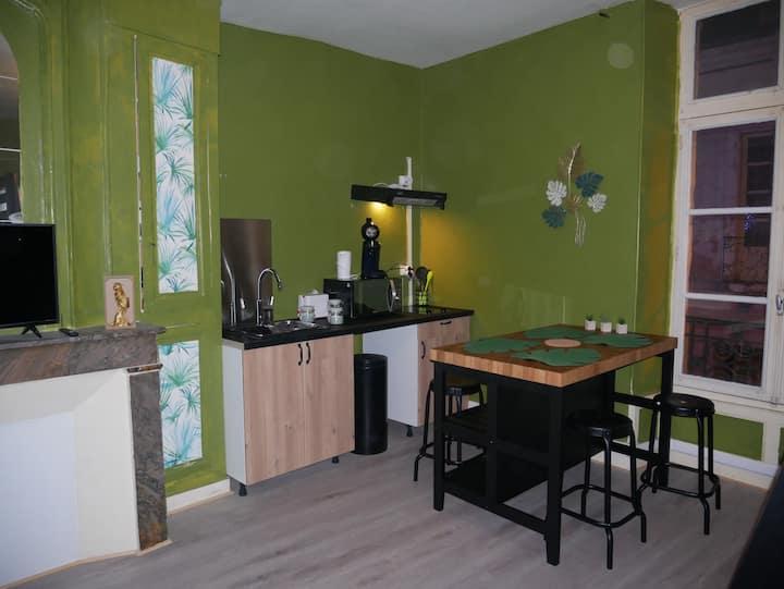 Studio centre ville de la Flèche idéal zoo / 24h