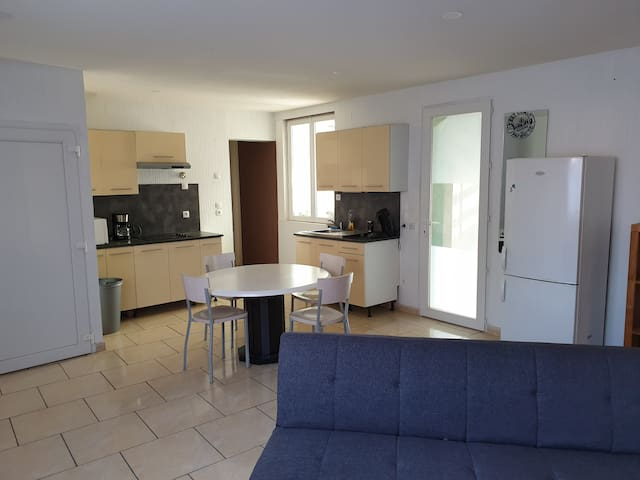 Appartement T2 Fonctionnel 4 couchages possibles