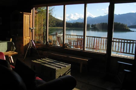 Paradise West Log Cabin & Sauna - Haines