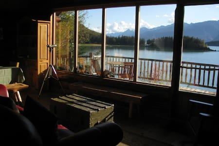 Paradise West Log Cabin & Sauna - Haines - Cabane
