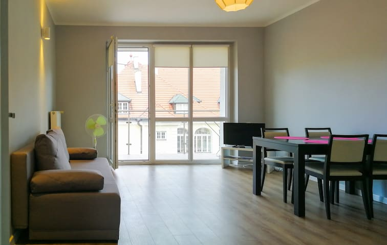 Musical Apartment with free parking place