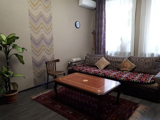 Ethnic apartment in the heart of the city