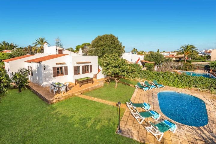 Aljub 3 bedroom villa, Calan Blanes