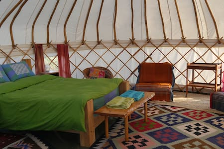 High Nature Centre - Large Yurt 1 - East Portlemouth - Yurt