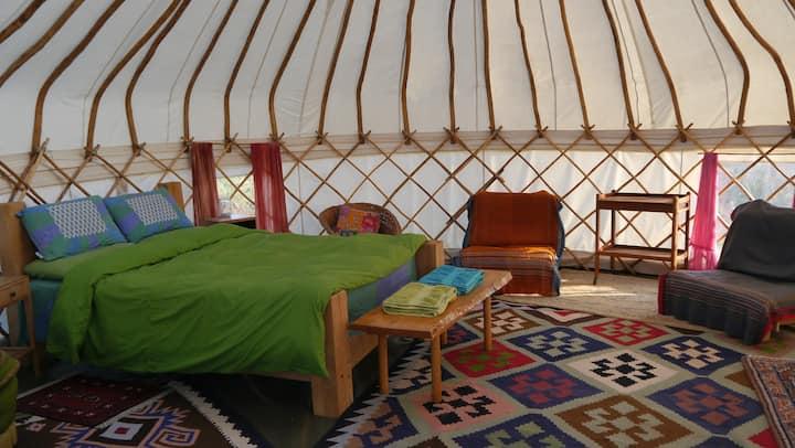 High Nature Yurt Camp - Large Yurt