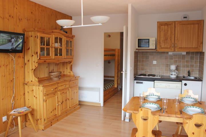 LAC DU LOU STUDIO 4 SITUATION EXCEPTIONNELLE - Val Thorens - Apartamento