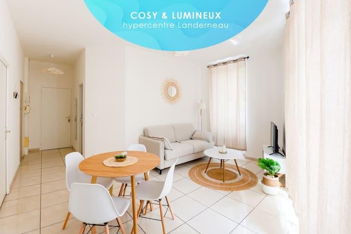 Coziliz : Cosy & Lumineux 35m2 dans l'hypercentre