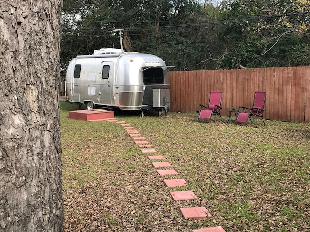 Fun Airstream Near Downtown, Lake, Trails & Venues