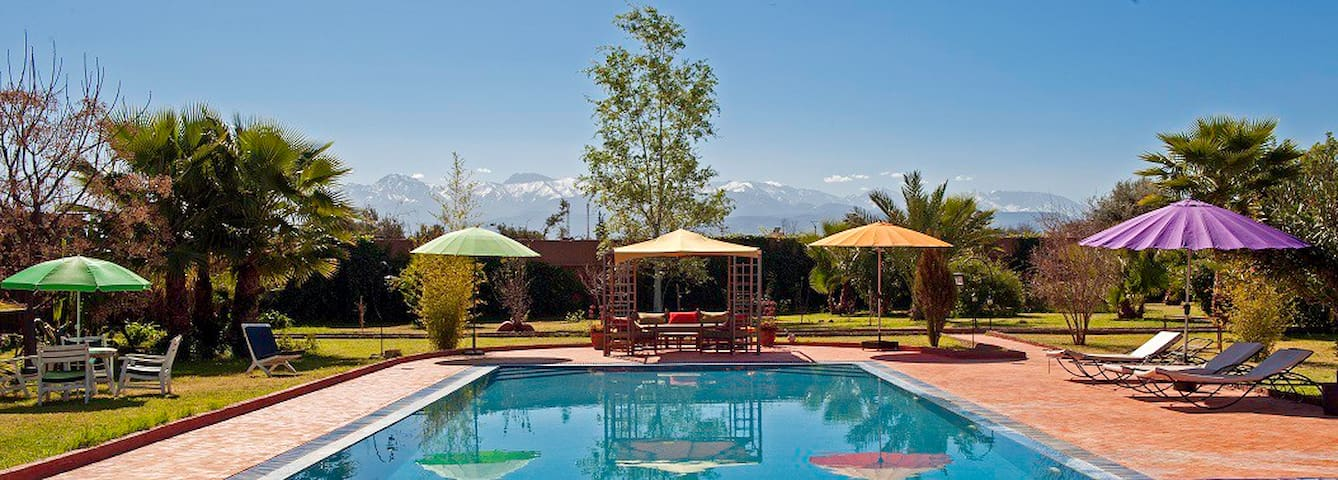 Kasbah d'Issyl - La chambre jaune - Marrakesh - Bed & Breakfast