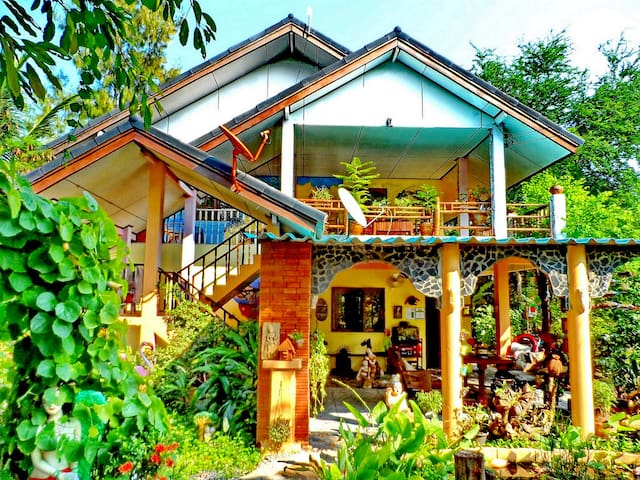 VILLA HOMESTAY ENGLISH/THAI FAMILY - Nakhon Ratchasima - Rumah Tamu