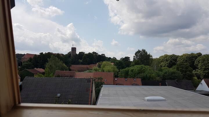 Wohnen im historischen Stadtkern mit Burgblick