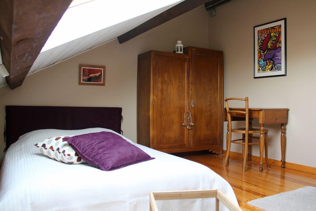 Obiwan's room, vue depuis le canapé
