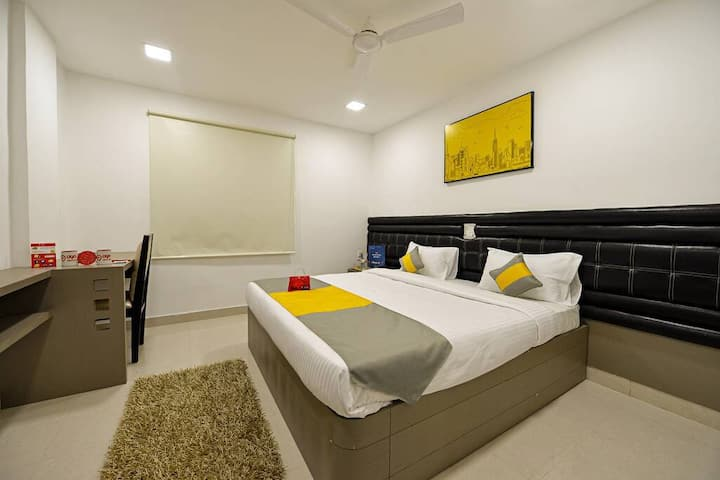 Family Ac room Fully furnished for Long stay @ HYD
