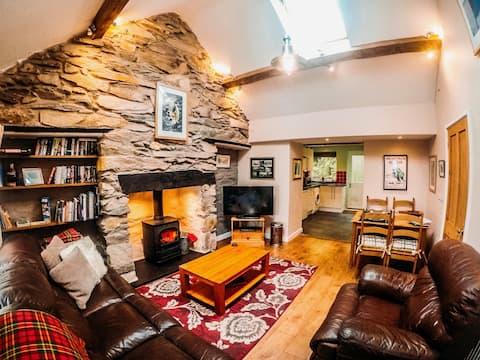 Domek kamieniołomu Snowdonia