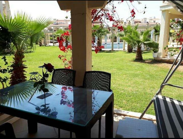 """Rosa (2+1)Apart"" havuz-bahçe katı, plaja 600metre"