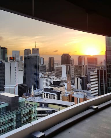 TOP Sky view  Brisbane CBD Level30+ - Brisbane - Byt