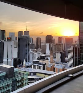 TOP Sky view  Brisbane CBD Level30+ - Brisbane - Apartament