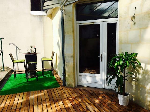 Maison climatisée patio et jacuzzi - Le Bouscat - Hus
